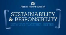 Pernod Ricard Sweden främjar ansvarstagande och inkludering