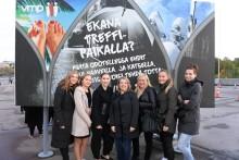 Vau Mikä Porukka -aitiokisan voittajat nauttivat ansaittua iltaa Helsingissä