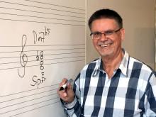 Roine Jansson ny professor i musikteori vid Kungl. Musikhögskolan (KMH)
