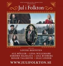 Jul i Folkton: Konsert på Riksscenen i Oslo 1.desember