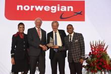 Norwegian élue « Compagnie de l'Année 2017»  par les prestigieux CAPA Aviation Awards for Excellence