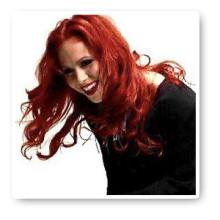 Mikaela Urbom från sånggruppen Love Generation valde att bleka tänderna på Eva Hultén Tandblekning AB i Stockholm.