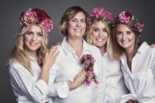 Skijentene blomstret for kreftsaken, og bidro til rekordbeløp til Rosa sløyfe-aksjonen.