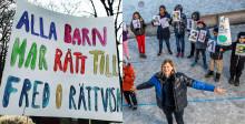 1 april: Barn i Sverige och världen springer 100 varv runt jordklotet för en bättre värld