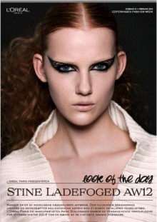 L'ORÉAL PARIS LOOK OF THE DAY// STINE LADEFOGED AW12