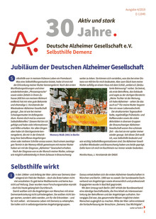 Alzheimer Info 4/2019: Jubiläum der Deutschen Alzheimer Gesellschaft