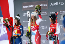 Erster Weltcup-Sieg für Corinne Suter