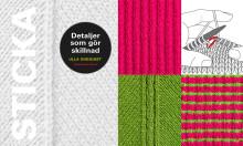 Stickning - Detaljer som gör skillnad. Ny bok från Hemslöjdens förlag