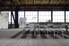 Interface lanserar en helt ny typ av textilgolv med minimerat koldioxidutsläpp
