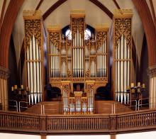 Njut av orgeltoner från Bach till Avicii