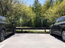Ny kö för parkeringsplatser