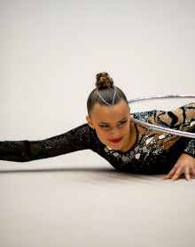 Två brons i lag på NM i rytmisk gymnastik
