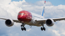 Norwegian has taken delivery of its first 787 Dreamliner