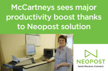 McCartneys sees major productivity boost thanks to Neopost solution