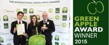 Canon kammade hem guldet på Green Apple Awards för sitt återvinningsprogram för servicekassetter