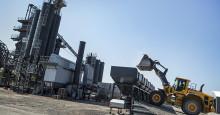 Fossilfri tillverkning i Svevias asfaltverk