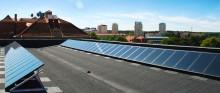 Solcellerna ökade med 63 procent under 2016