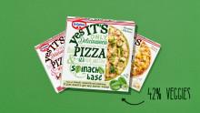 Kan pizza bli en ny favoritt-grønnsak?