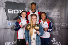 Ebonie Jones and Chantelle Reid win European boxing titles