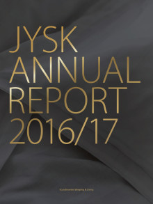 JYSK Annual Report  2016/17