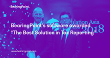 """BearingPoint's software awarded """"The Best Solution in Tax Reporting"""""""