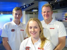Sandra Hultgren och Kevin Eriksson klara för OMSE och Supercar Lites