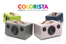 AUDIO PRO ADDON T9 COLORISTA - A colourful wireless speaker
