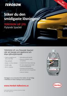 Teroson UP270 Flyer Swedish