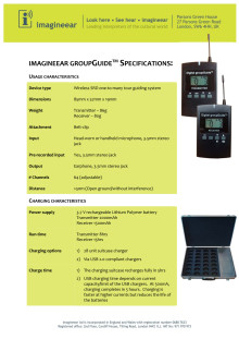 imagineear groupGuide specifications