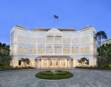 Eine Hotellegende kehrt zurück: Das Raffles Singapore feiert seine offizielle Wiedereröffnung