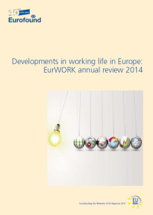 Developments in working life annual review shows a Europe in flux