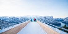 12 grunner til å besøke Flåm i vinter