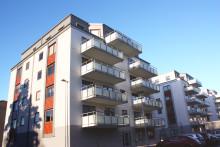 Aptus bidrar med trygghet i nytt bostadskvarter i Trollhättan