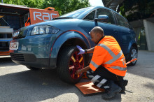 RAC trials universal spare wheel as 'puncture no spare' call-outs increase by nearly 50% in a year