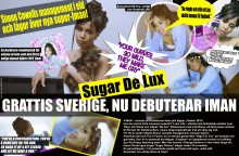 Nu artistdebuterar hitmakaren Iman med Sugar Deluxe