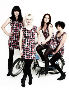 Cherry Overdrive från Köpenhamn spelar LIVE x 2 i Helsingborg.