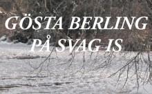 Gösta Berling på svag is - årets vinterupplevelse vid Stadra