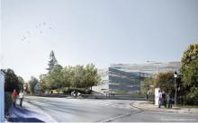 Arbetet med den nya förvaltningsbyggnaden för Uppsala universitet fortsätter