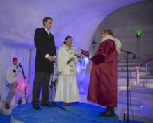 Världsunikt bröllop i Luleå