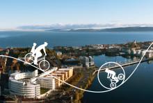 Jönköpings kommun tar fram ett nytt cykelprogram - Nu kan du tycka till om framtidens cykling!