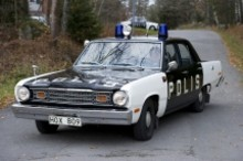 Öppet hus i polisens fordonssamling
