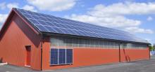 Weland Stål fixar infästningen för dina solpaneler