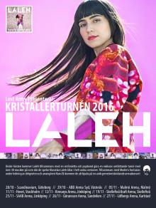 """PREMIÄR för videon till Lalehs """"Bara få va mig själv"""" och biljettsläpp för Kristallerturnén"""