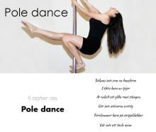 Pole dance utförs inte bara av tjejer