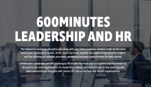 TNG medverkar på 600 minutes Leadership and HR i Stockholm