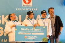 SkolmatsGastro 2016 är avgjort: Team Åbys Mumsliga tog hem segern i SM i Skolmat