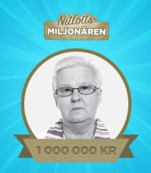 Vivi-Anne vann 1 miljon – på en nitlott från Miljonlotteriet!