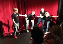Teatersport och improvisationsteater på Folkteatern i höst