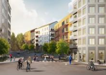 Pressinbjudan: Första gjutningen för Brf Skulpturparken i projektet Stora Sköndal