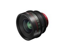 Canon lanserer CN-E20mm T1.5 L F – et lyssterkt fullformat fastobjektiv med EF-fatning for enestående 4K-opptak